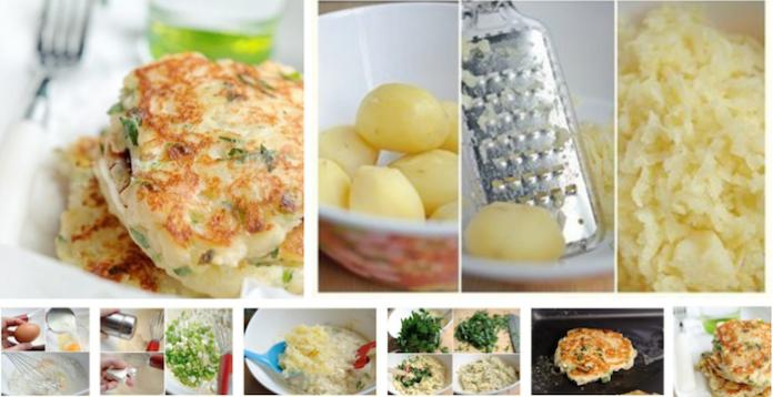 Рецепт для тех, кто ценит свое время: картофельные оладьи с сыром