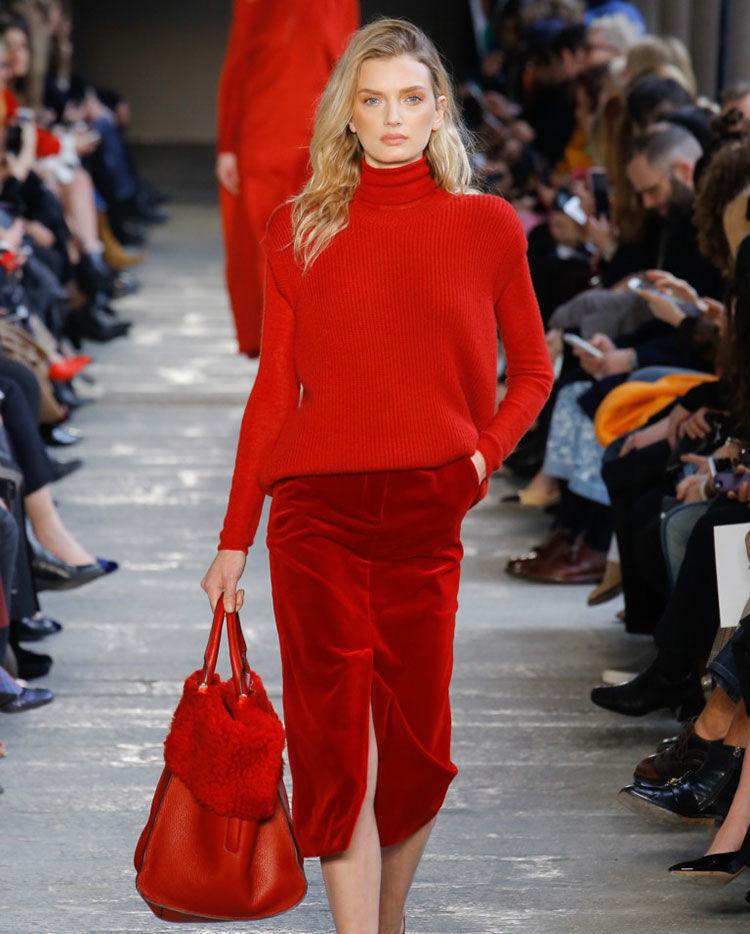 Весна 2020 — юбки сложного кроя, длина миди, фото № 47