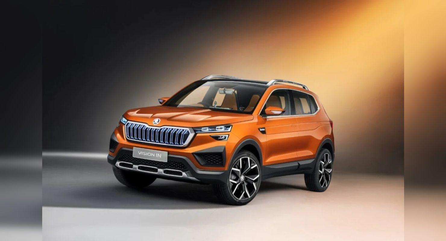 Skoda представила изображения кроссовера Kushaq Автомобили
