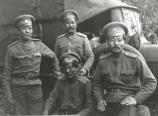 Как русским помогали калмыки
