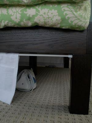 Подзор под кроватью