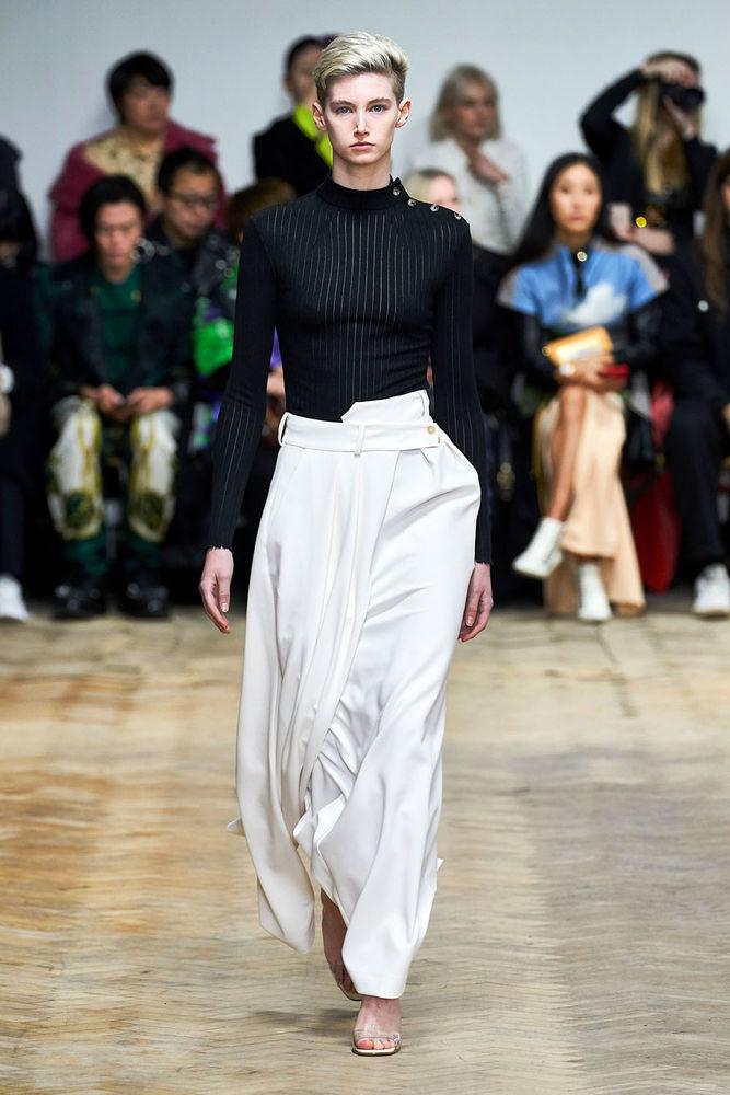 Весна 2020 — юбки сложного кроя, длина миди, фото № 12