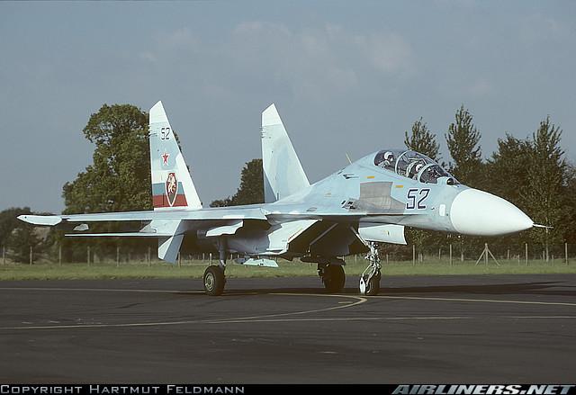 """Картинки по запросу 1997 Су-30 """"52"""" (№ 96310107023)"""