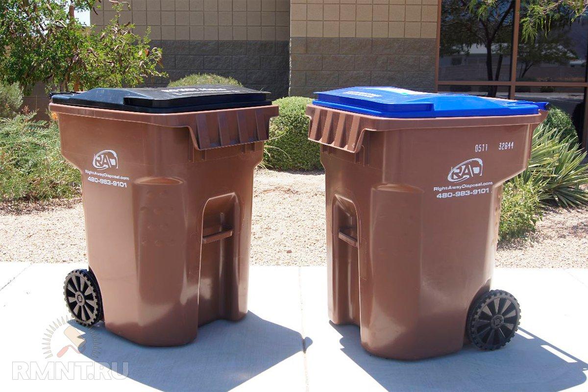 мусорный контейнер частный сектор