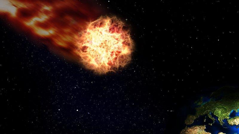 С Землёй разминулся астероид размером с Челябинский метеорит