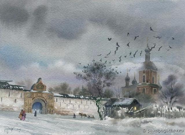Крещенские звоны. Горицкий монастырь (640x465, 271Kb)