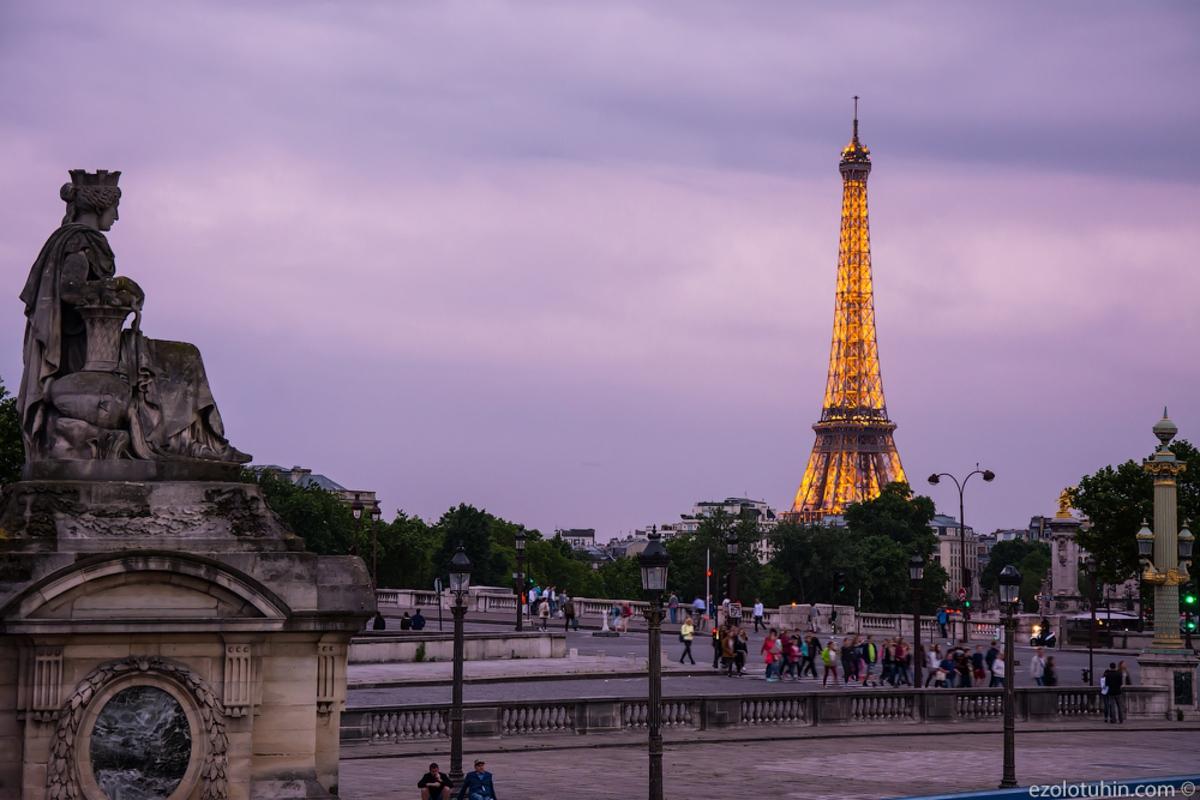 Если бы Париж был без мусора, бомжей и беженцев