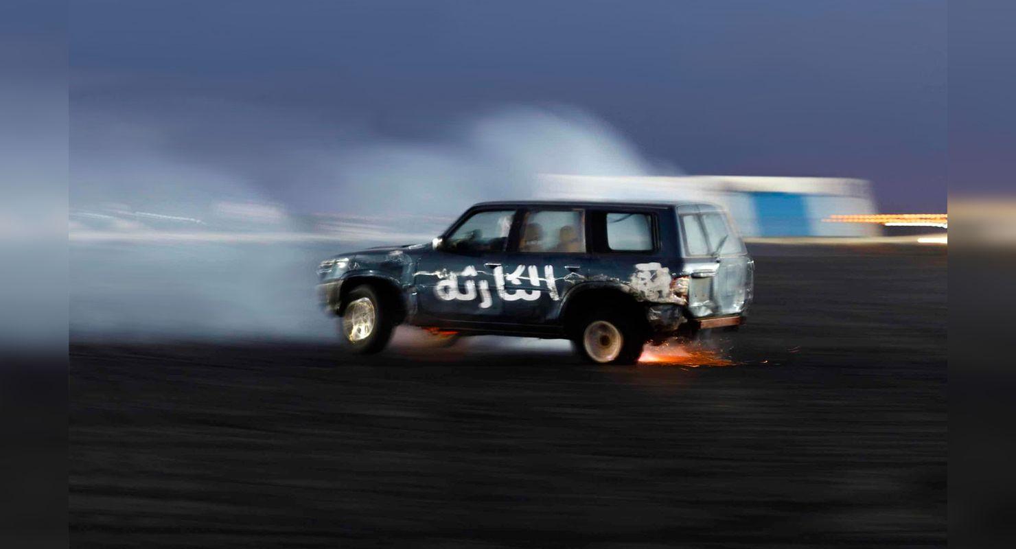 Арабский дрифт, за который наказывают ударами плетью Автомобили