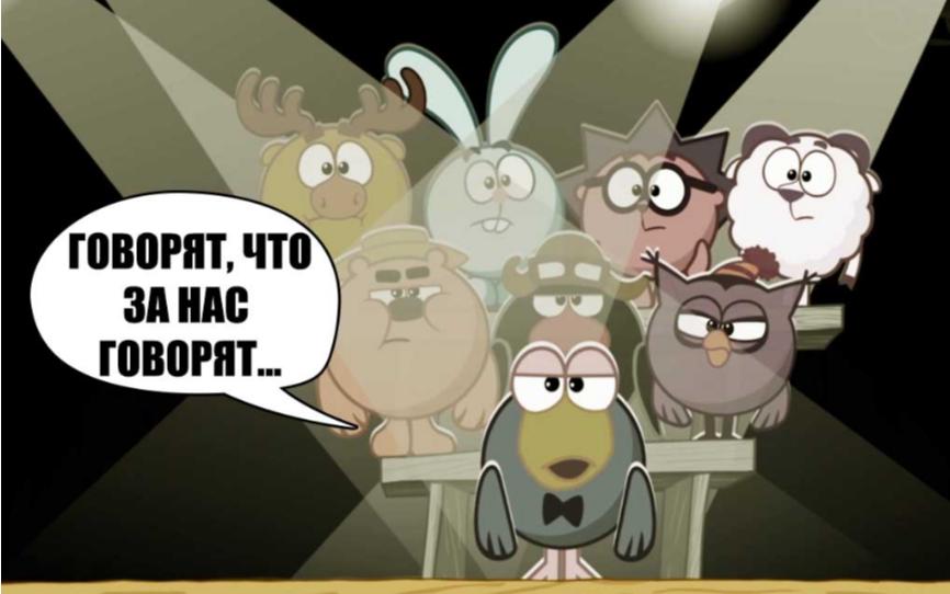Как выглядят актеры, озвучивающие Смешариков мультипликация,озвучка,отечественные фильмы