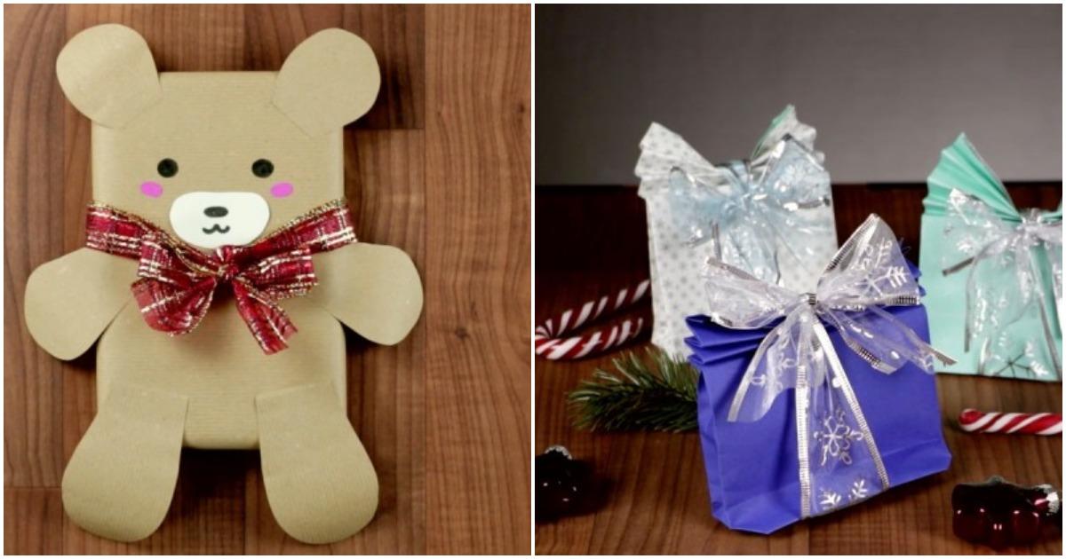 Оригинальные способы упаковать Новогодние подарки. Удивите своих родных