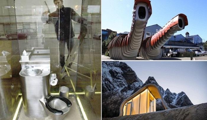 10 общественных туалетов, в которых посетители напрочь забывают о своей «нужде»