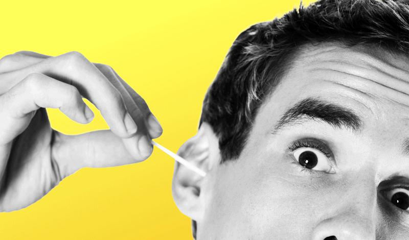 Как выглядит чистка ушей с точки зрения науки болезнь,ватная палочка,врач,гигиена,здоровье,как правильно чистить уши,Тренинг,чистка ушей