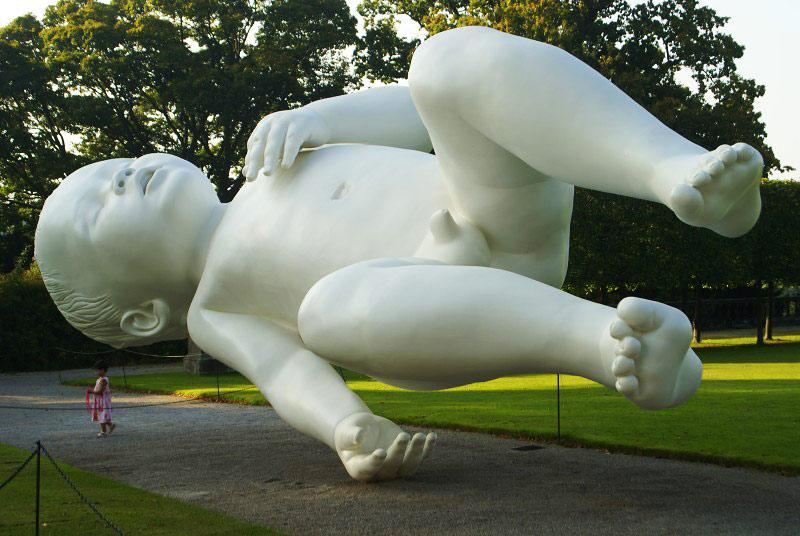 Самые невероятные скульптуры современности. Фото