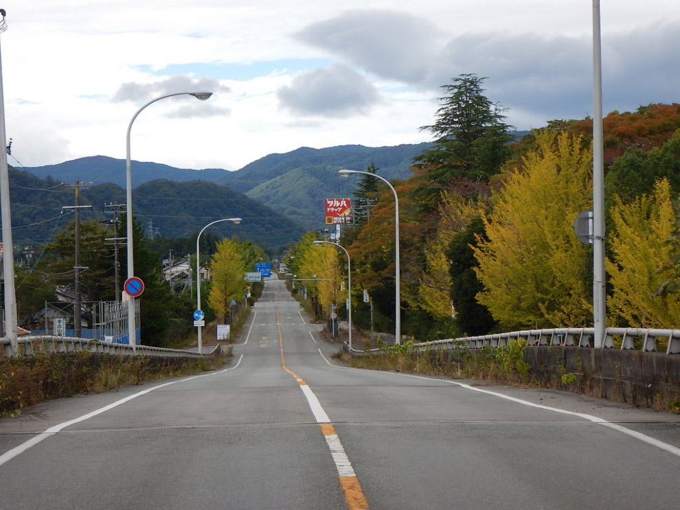 Окрестности АЭС «Фукусима» сейчас