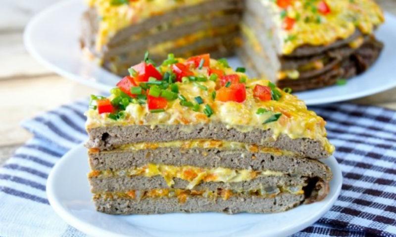 Печеночный пирог с овощами — вкусное, полезное и сытное блюдо