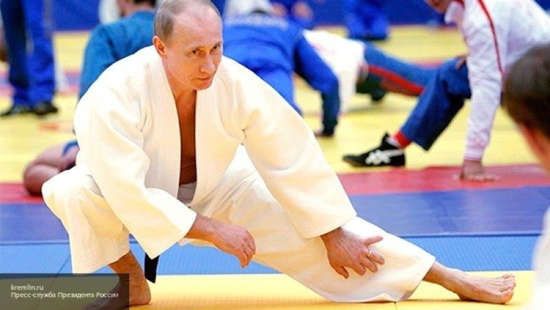Путин травмировался во время тренировки по дзюдо в Сочи
