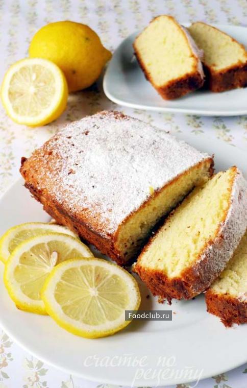 Лимонный кекс выпечка,кулинария,лимонный кекс