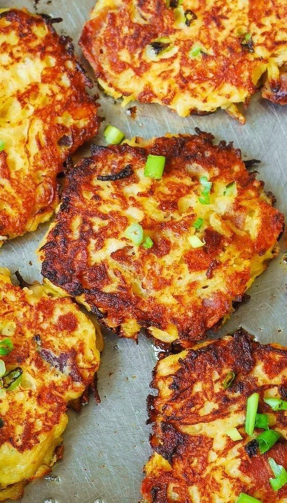 Капустные оладьи - прекрасный завтрак длиннопост, еда, капуста, картинки, на заметку, приготовь, рецепт