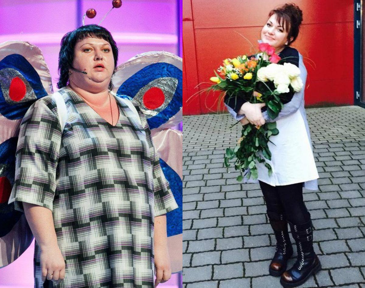 Екатерина картункова до и после похудения