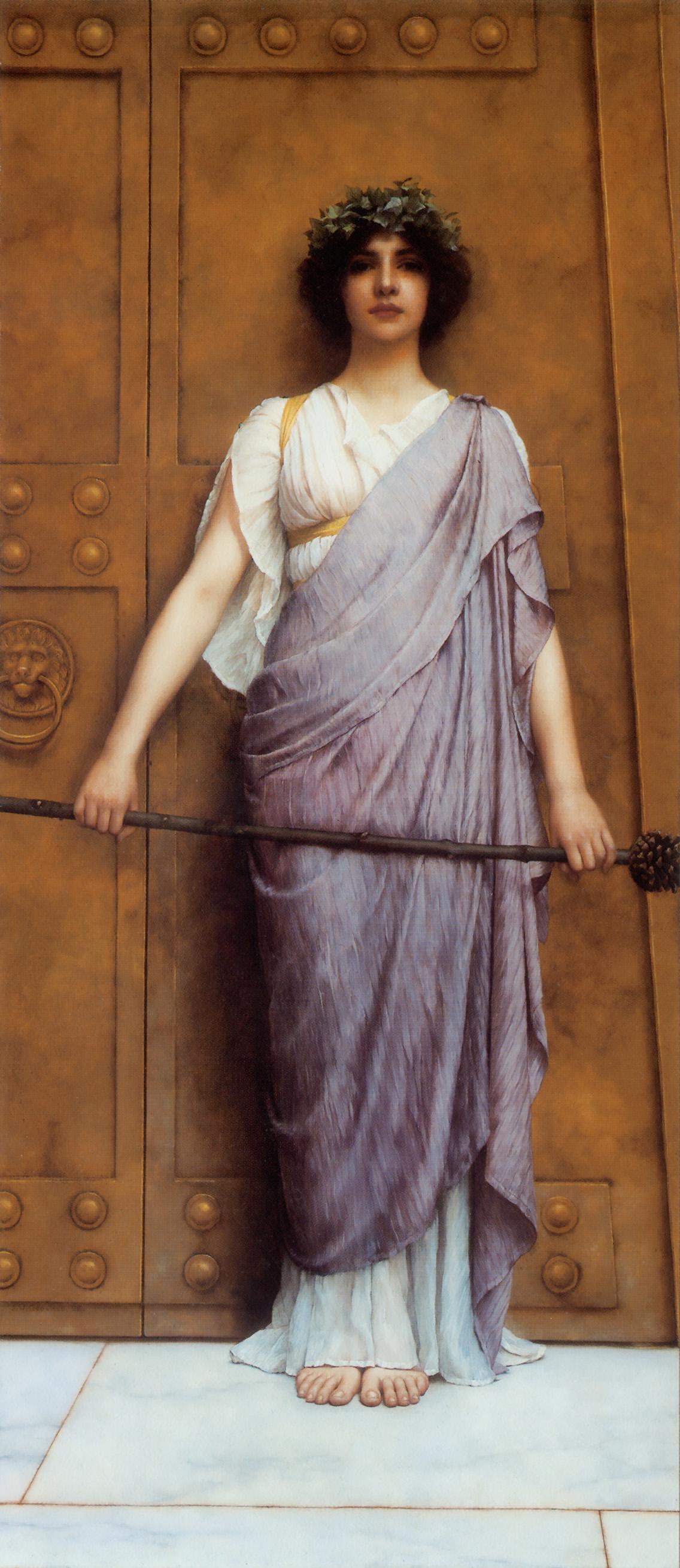 1898_У врат в храм (частная коллекция)