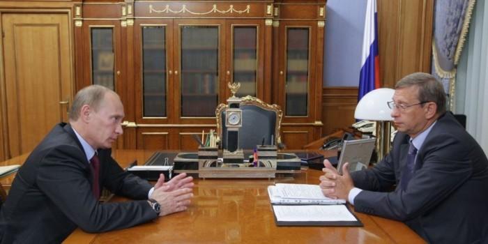 """Евтушенков рассказал об обсуждении с Путиным мирового соглашения с """"Роснефтью"""""""