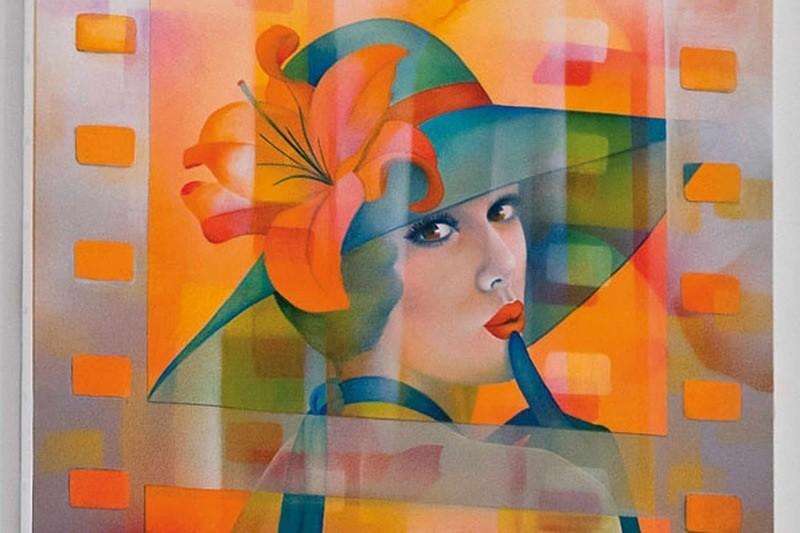 Пин-ап и сюрреализм. Жанет Гишар-Бюнэль (Jeannette Guichard-Bunel).