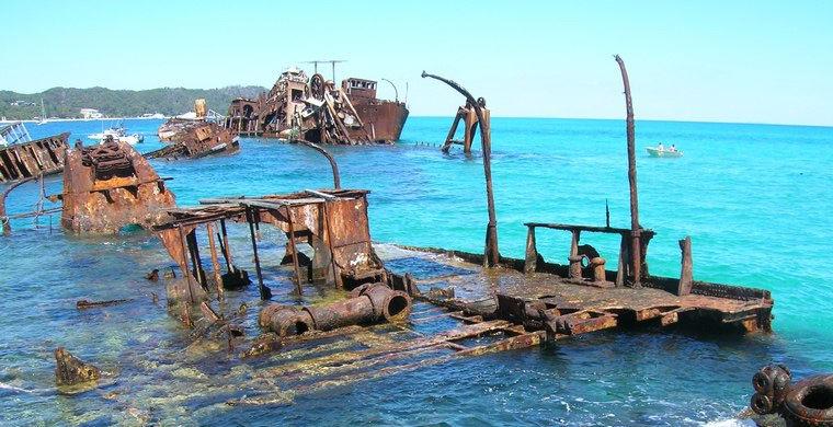 6 живописных кладбищ затонувших кораблей история,путешествия,страны