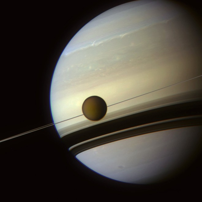 Как выглядит жизнь на Титане, спутнике Сатурна
