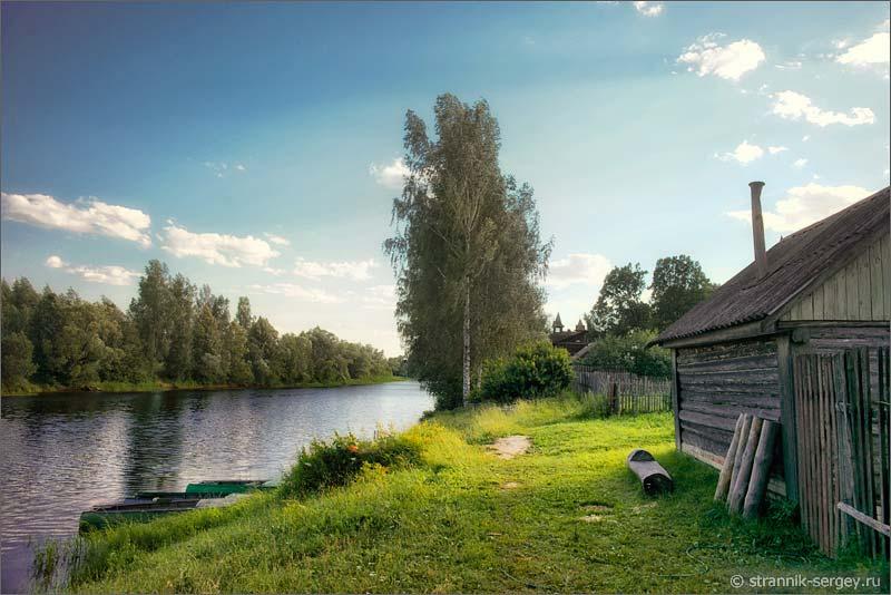 Русский дух в старинном селе