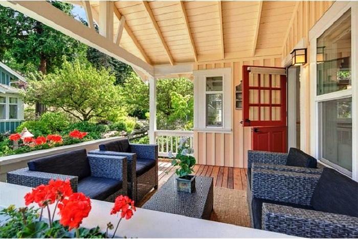 Крошечный домик с продуманной планировкой, превратившей его в самое желанное место для проживания