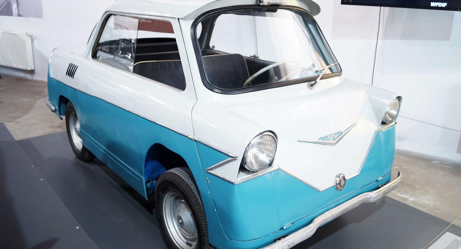 Польский миникар Smyk из 1950-х Автомобили