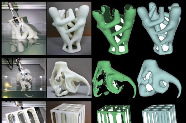 Вода помогает ученым сканировать 3D-изображения сложных объектов