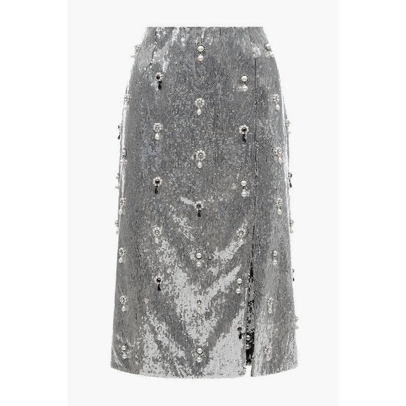 Весна 2020 — юбки сложного кроя, длина миди, фото № 50