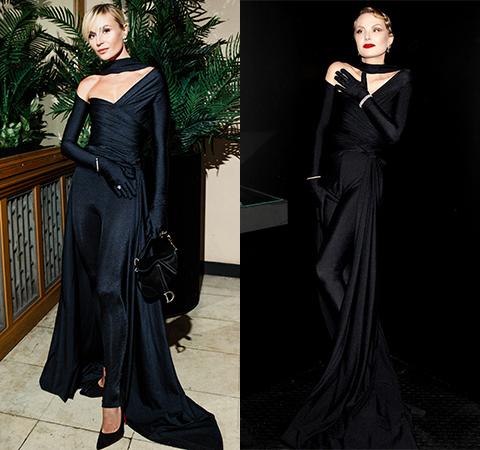 Модная битва: Полина Гагарина против Ренаты Литвиновой Битва платьев