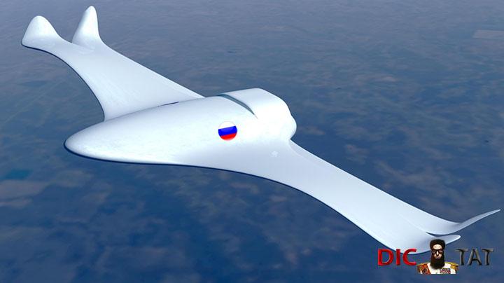 НОВЫЙ САМОЛЕТ РОССИИ — СТРАШНЫЙ СОН НАТО