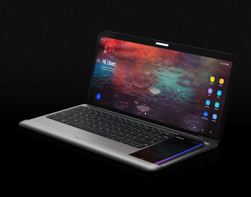У Samsung может появиться ноутбук с разъемом под смартфон
