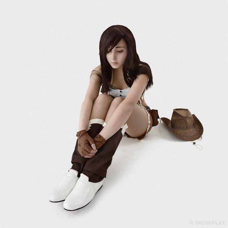 Crisis Core: Final Fantasy VII - Красивый косплей на Тифу Локхарт Игры,косплей