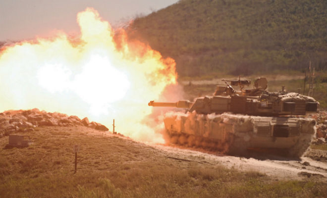 Новый танк Абрамс, который почти нельзя победить