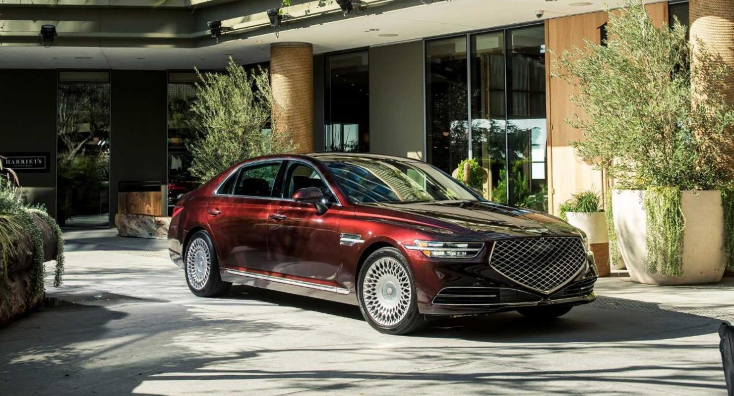 Седан Genesis G90 версии 2022 года не будет доступен с двигателем V8 Автомобили