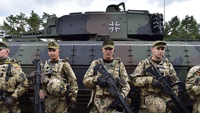 Германия сдерживает Россию. …