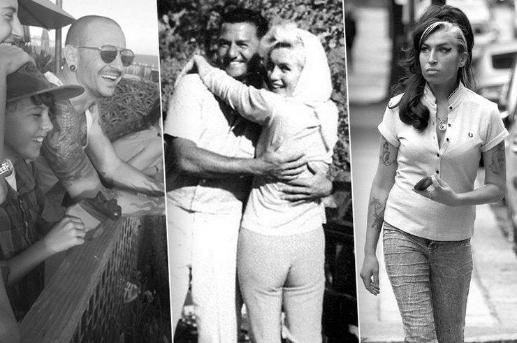 Последние фотографии знаменитостей, сделанные незадолго до их смерти
