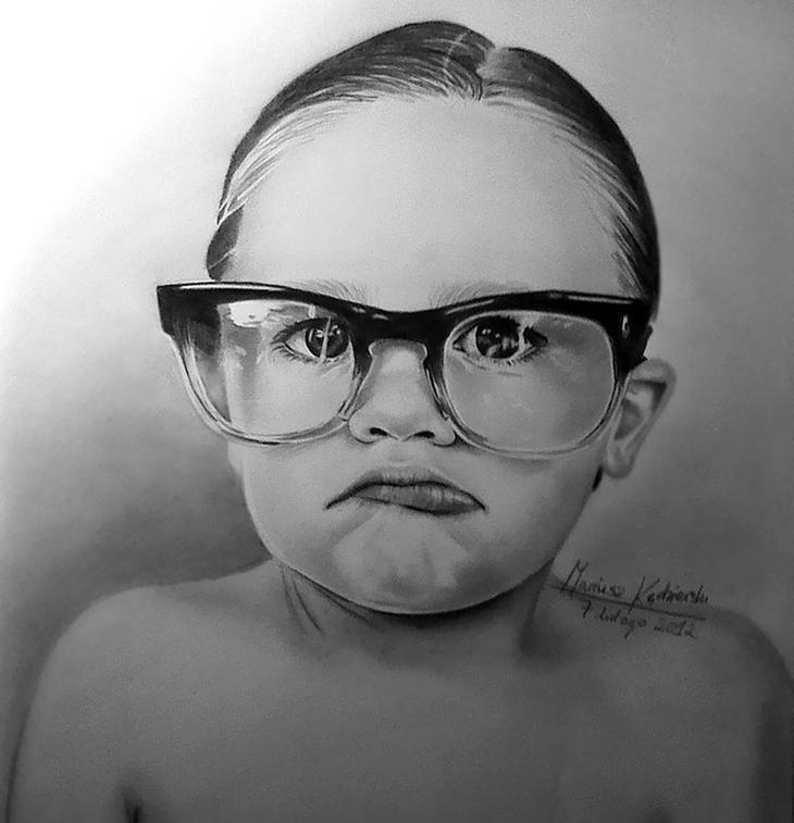 Этот парень, родившийся без рук, рисует невероятно реалистичные картины