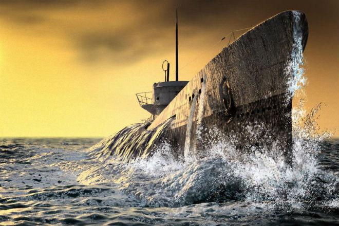 Как моются на подводной лодке. Видео с борта