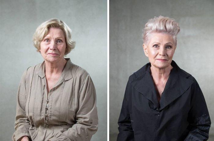 До и после. Как смена прически меняет внешность людей