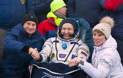 В ЦУП сообщили о самочувствии экипажа МКС после возвращения на Землю