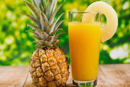 Сок ананаса имеет противовирусные свойства