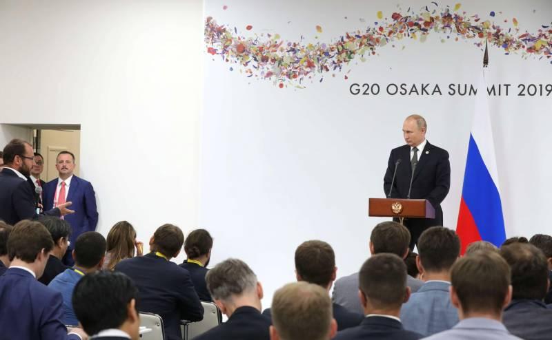 Путин: Украина сама признала факт провокации в Керченском проливе