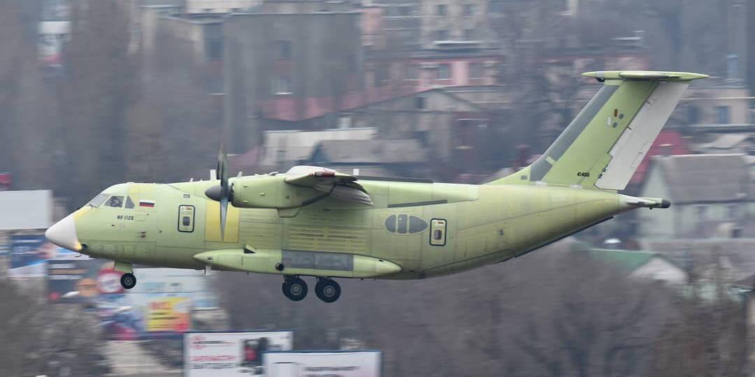 Первый полет Ил-112В задержался на два десятилетия Авиация