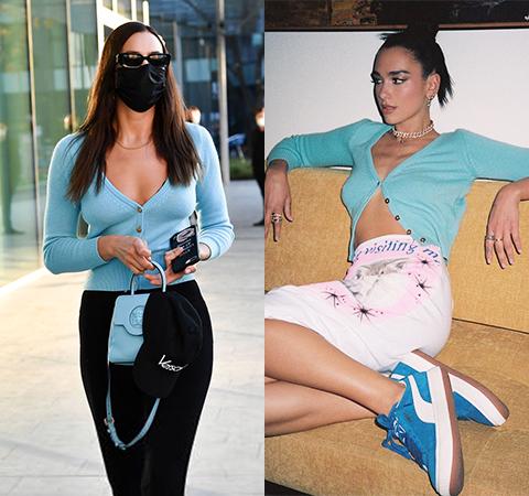 Модная битва: Ирина Шейк против Дуа Липы