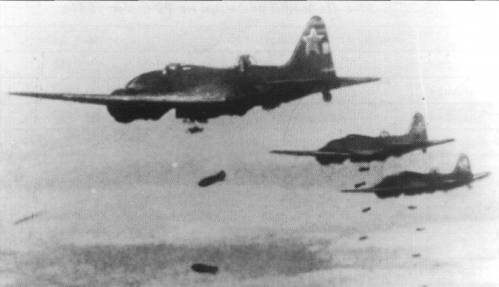 Как советские летчики летом …
